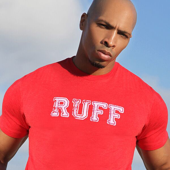 RUFF RIDERS RUFF (RED) TEE