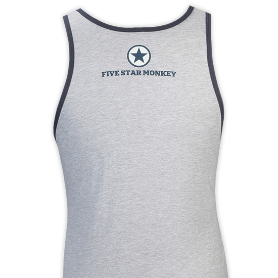 FIVE STAR MONKEY JOCK TANK (BACK)