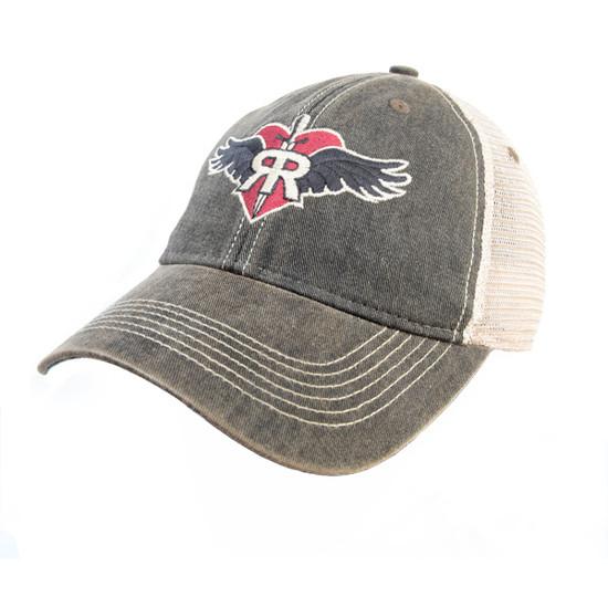 The Ruff Rider Vintage Black Trucker Cap