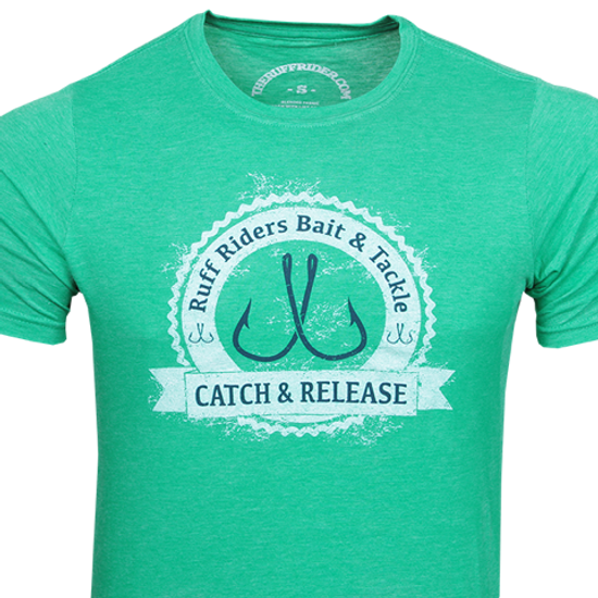 "RUFF RIDERS ""CATCH AND RELEASE"" Tee"