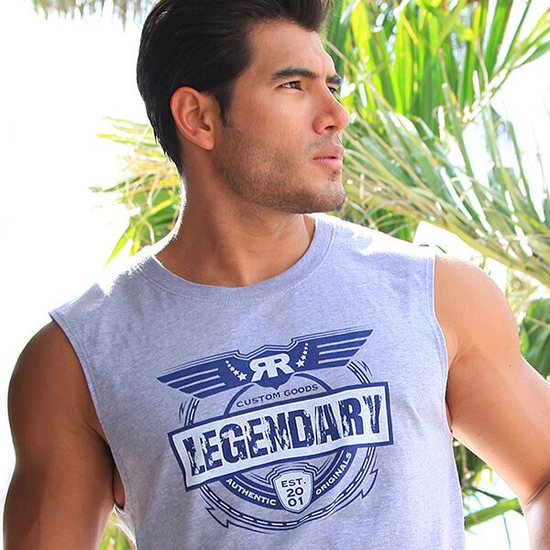RUFF RIDERS LEGENDARY MUSCLE TEE