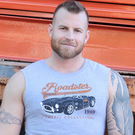 RUFF RIDERS ROADSTER MUSCLE TEE