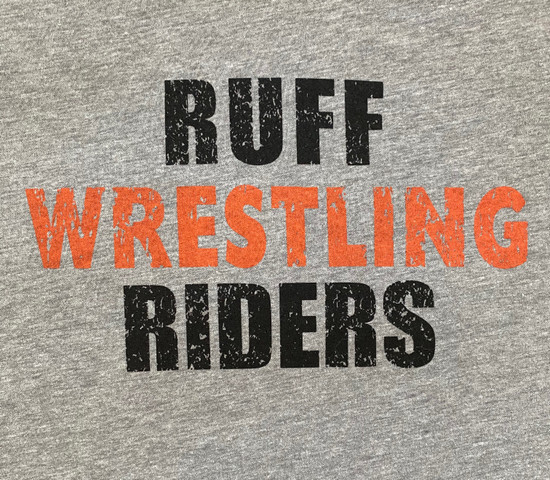 RUFF RIDERS Tap Out Muscle Tee (Heather Grey)