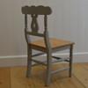 Cottage Chair - Gustavian Gray w/ Pine Seat