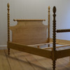 English Farmhouse Spindle Bed in English Pine