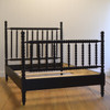 Hazel Spindle Bed in Black Walnut