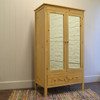 Emma's Mirrored Armoire - English Pine