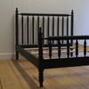 Winona Spindle Bed - Black Walnut