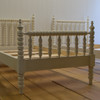 Children's Winona Spindle Bed - French White