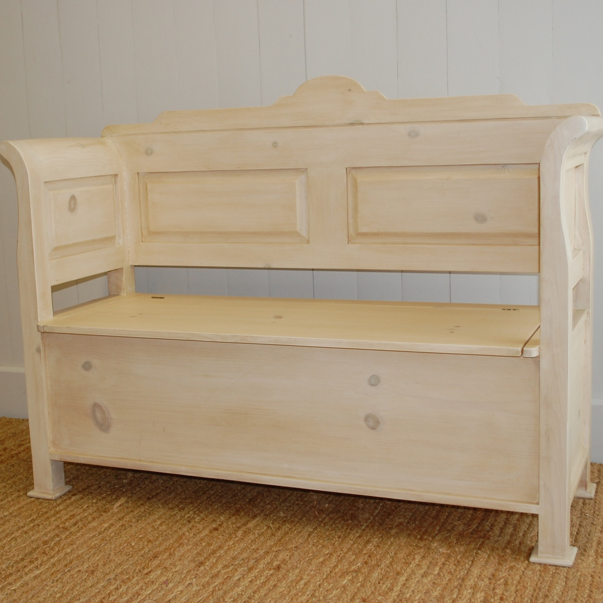 Farmhouse Entry Bench Small English Farmhouse Furniture Ann Bradshaw Kirchofer