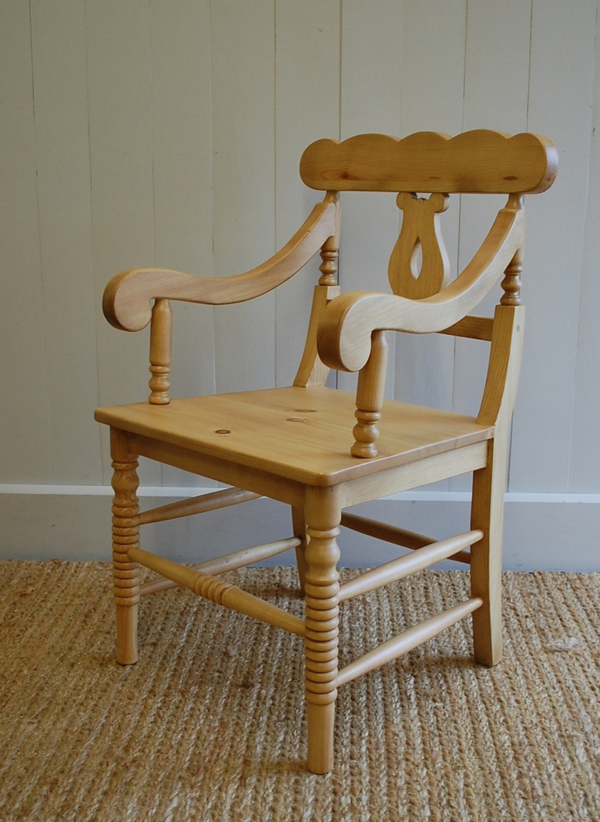 Cottage Chair With Arms English Farmhouse Furniture Manufacturing