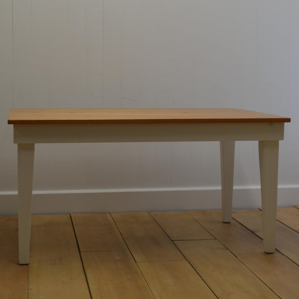 Tapered Leg Farm Table