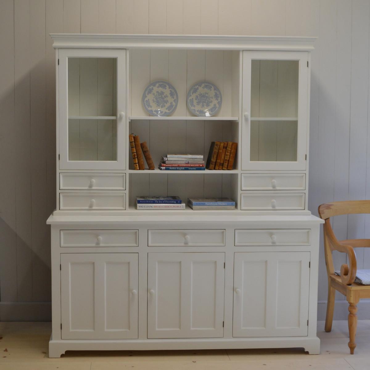 London Kitchen Dresser - white