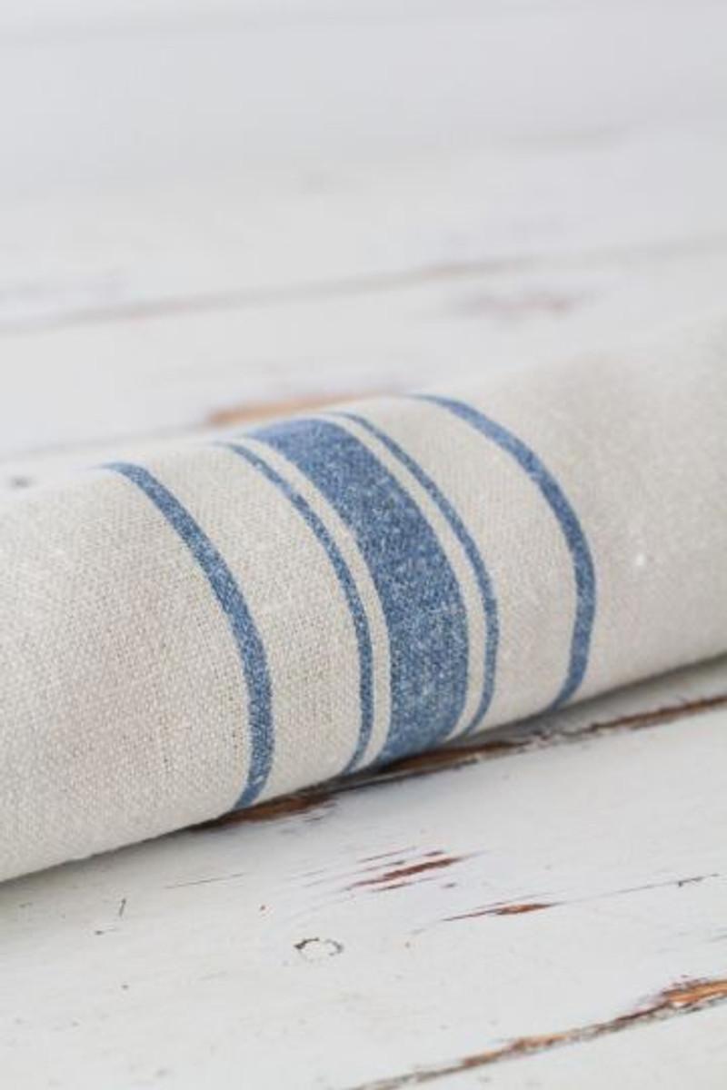 Danish Stripe ~ Ink Blue