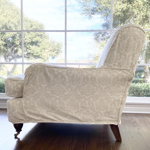English roll arm chair by English Farmhouse Furniture