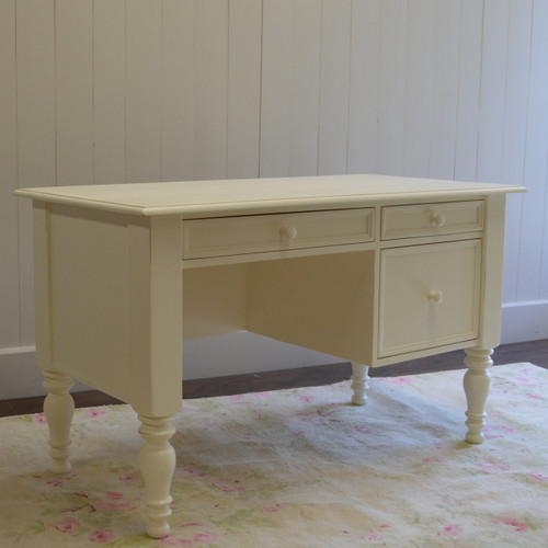 Cottage Desk - french white
