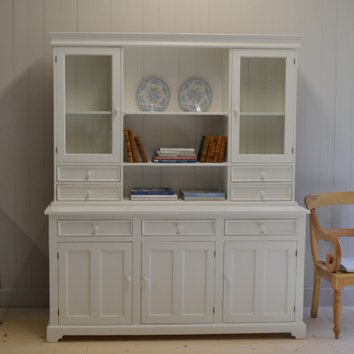 London Kitchen Dresser - white