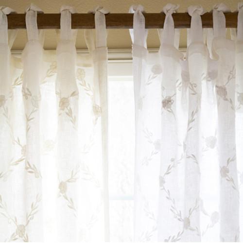 Trellis Linen Panel
