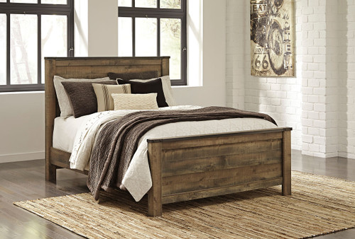 Signature Design by Ashley B446-53 Trinell Twin Panel Headboard Brown