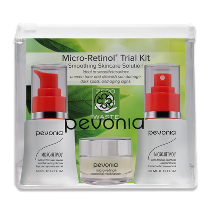 Micro-Retinol Trial Kit - Smoothing Skincare Solution