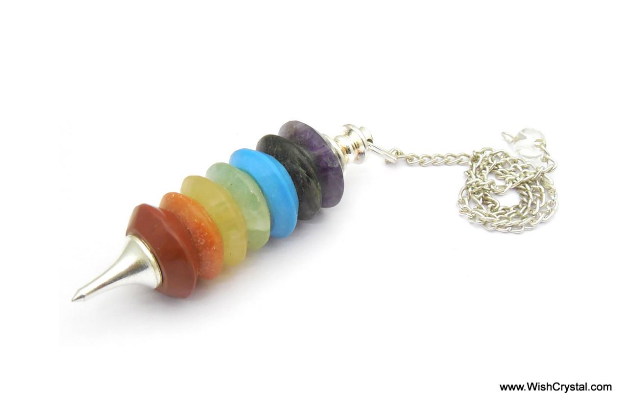 Chakra Stone Donut pendulum
