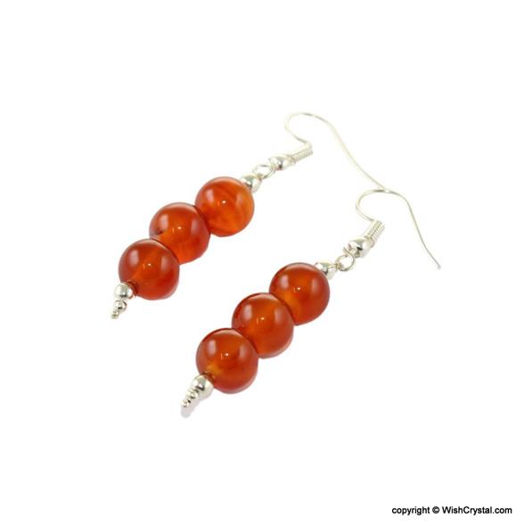 Gemstone Beads Earrings