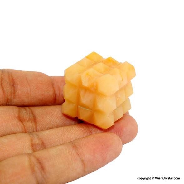 Yellow Aventurine Sacral Chakra Healing Stone