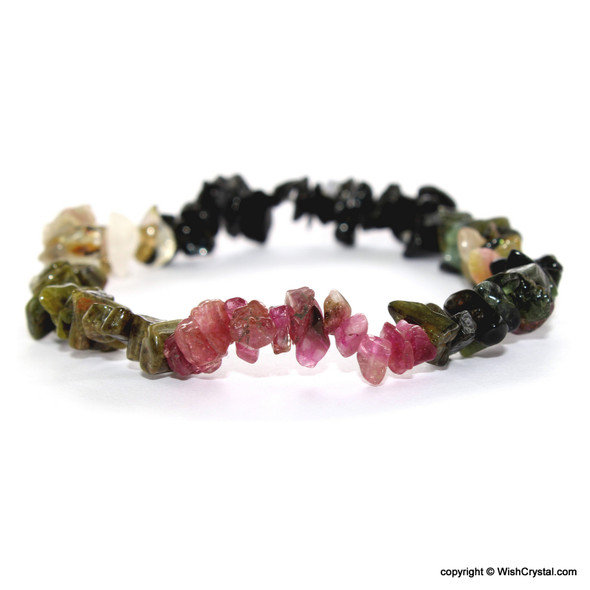 Natural Tourmaline Petite chips bracelets