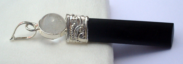 Black Tourmaline 2 piece Pendant