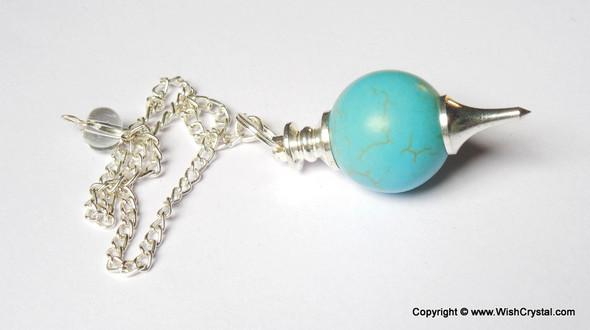 Halo Turquoise Ball Pendulum