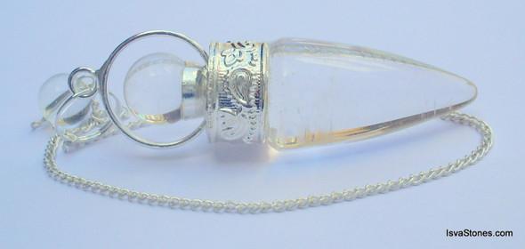 Crystal Cone Shaped 2 piece Pendulum