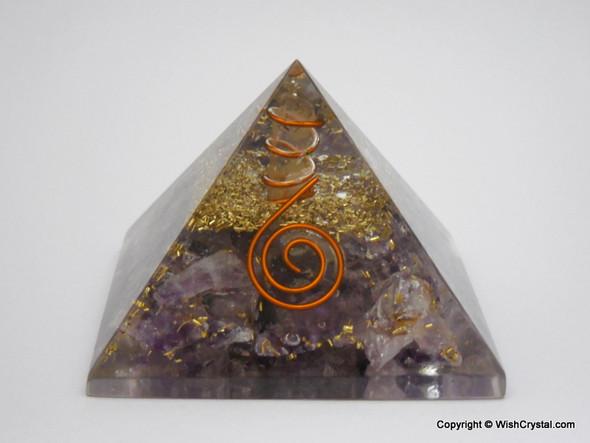 Amethyst Orgone Pyramid - 40 - 45 mm