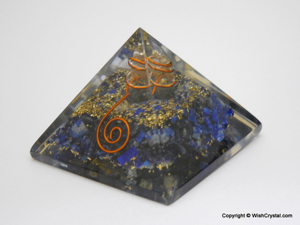 Lapis Lazuli Orgone Pyramid - 40 - 45 mm