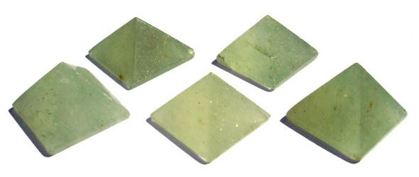 Green Aventurine Pyramid - 18 to 20 mm