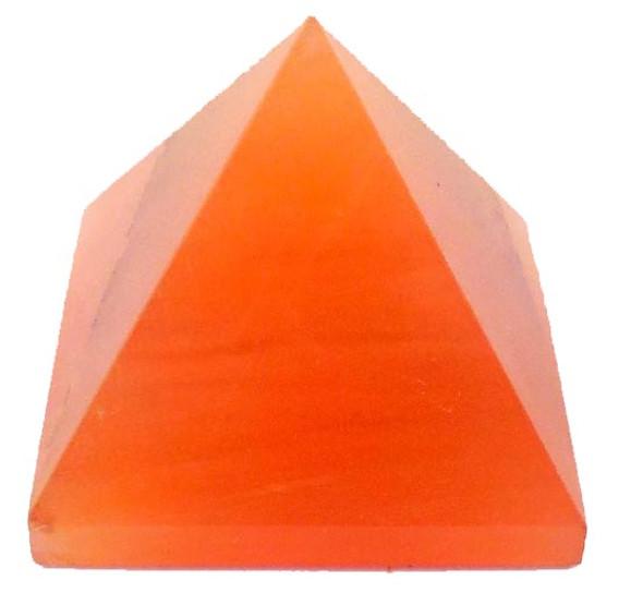 Orange Aventurine Pyramid - 18 to 20 mm