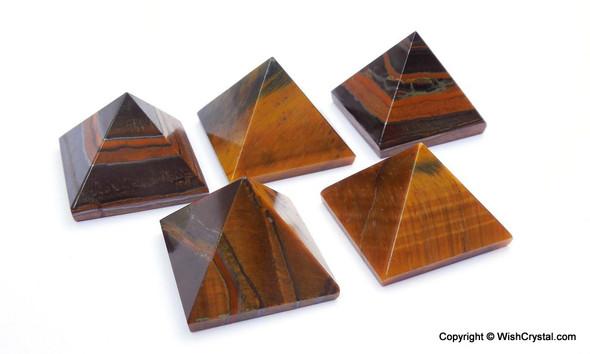 Tiger Eye Pyramid - 18 to 20 mm