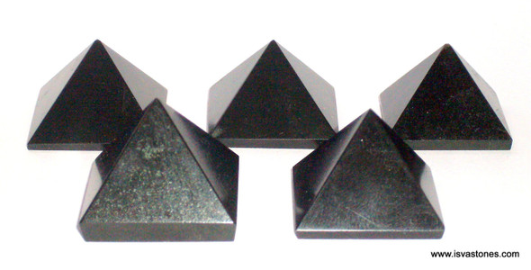 Black Tourmaline Pyramid - 18 to 20 mm