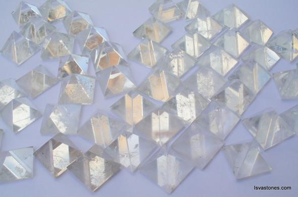 Crystal Quartz Pyramid - 18 to 20 mm