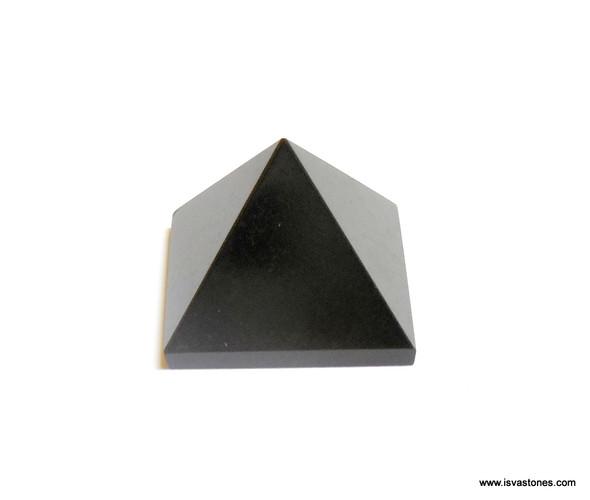 Black Obsidian Pyramid - 18 to 20 mm