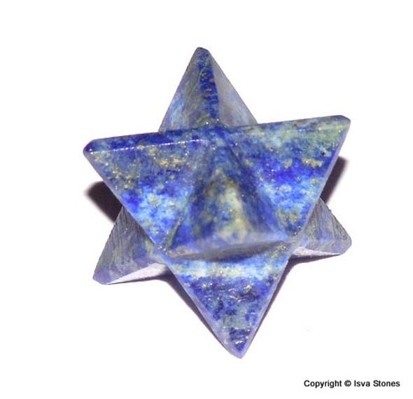 Lapis Lazuli Merkaba Crystal Star