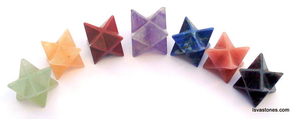 Blue Aventurine Merkaba Crystal Star