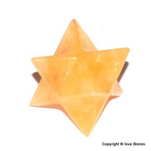 Yellow Aventurine Merkaba Crystal Star