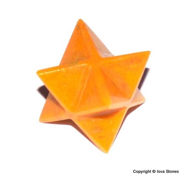 Orange Quartz Merkaba Crystal Star