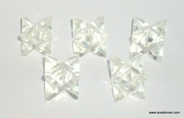 Crystal Quartz Merkaba Crystal Star