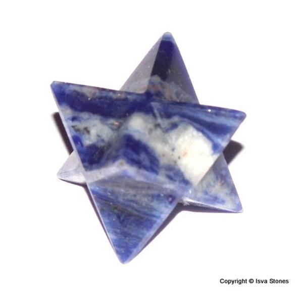Sodalite Merkaba Crystal Star