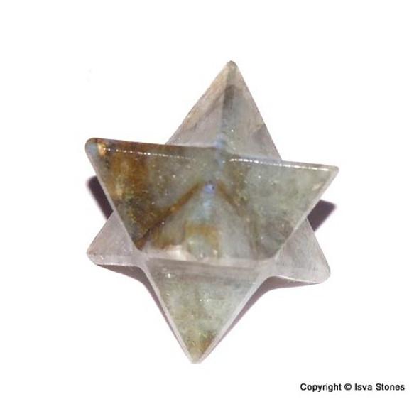 Labradorite Merkaba Crystal Star