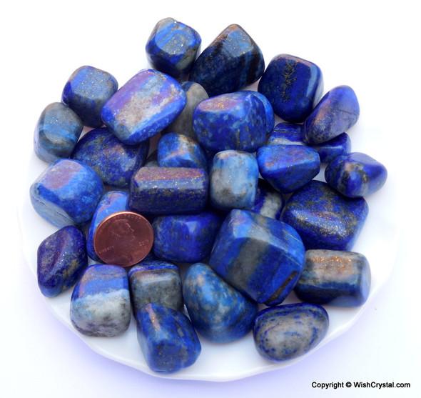 Lapis Lazuli Tumbles Bag per Kilogram