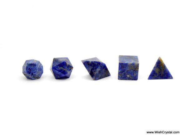 Sodalite Sacred Geometry Set