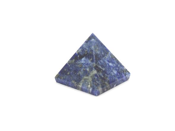 Natural Sodalite Pyramid - 25 to 28 mm