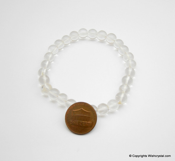 Crystal Quartz Beads Bracelet